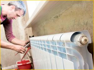 Установка и замена радиатора отопления в квартире