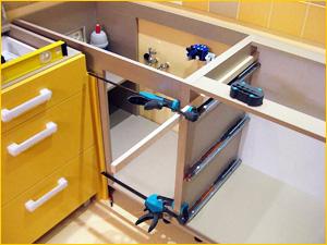 Сборка кухонного гарнитура, советы и рекомендации