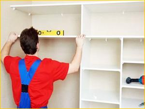 Установка и сборка шкафа в квартире