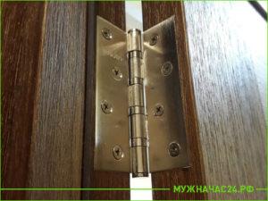 Врезка петель без повреждения двери