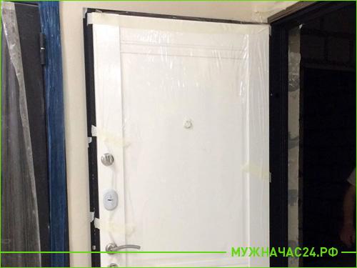 Результат установки двери Торекс в квартиру
