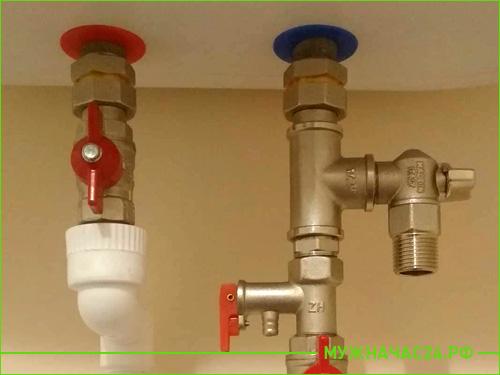 Надежные фитинги и краны для водонагревателя