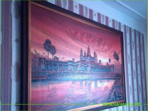 Результат навеса картины в квартире