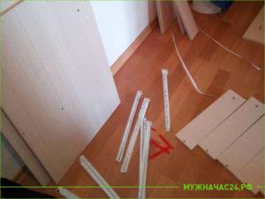 Сборка мебели пошагово